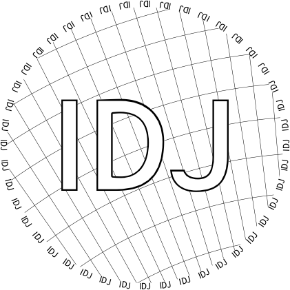 Glasses placemat: IDJ