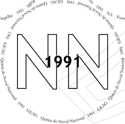 Glasses placemat: Noval Nacional 1991