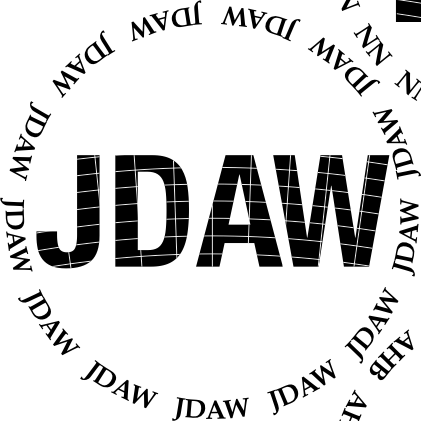 Glasses placemat: JDAW