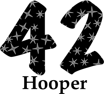 Glasses placemat: Hooper 1942