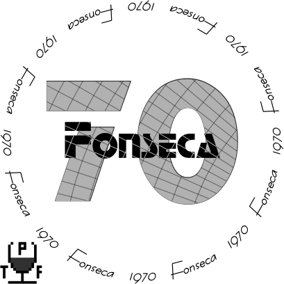 Glasses placemat: Fonseca 1970